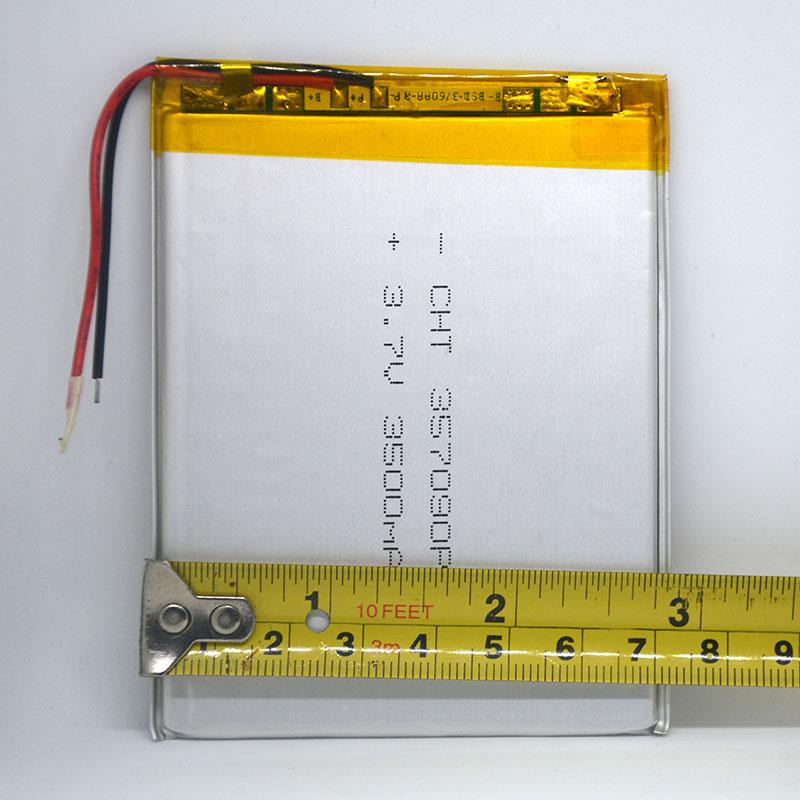 7 pulgadas tableta universal 3.7v 3500mAh batería de polímero de - Accesorios para tablets - foto 5