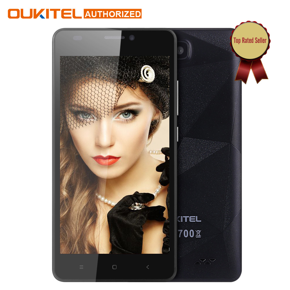 Original Oukitel C3 5 0 inch Mobile phone Android 6 0 MT6580 Quad Core 1 3GHz