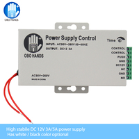 OBO HANDS 12VDC Access Control Power Supply Switch 3A 5A Time Delay Adjustable AC90V 260V Input