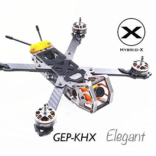 GEPRC GEP KHX4 KHX5 KHX6 Hybrid X Elegant X Type Frame Kit w PDB 5V 12V For RC Models DIY Quadcopter in Parts Accessories from Toys Hobbies