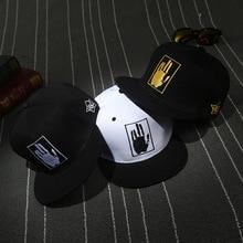 Модные Повседневные шапки в стиле хип-хоп, мужские и женские бейсболки, хлопковые кепки с вышивкой в виде пальм, винтажные кепки для уличных танцев BKX512