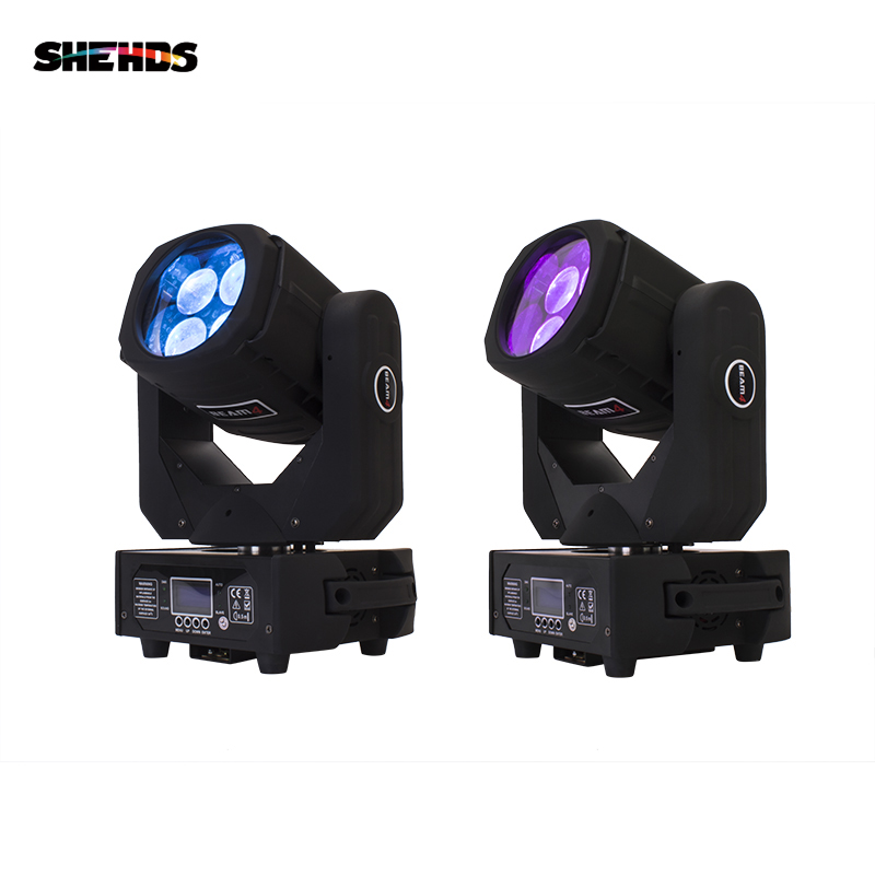 LED 4x25W Super Beam Moving Head LED Beam Light Perfect Effect Light For DJ Disco Party Lighting Fast Shipping