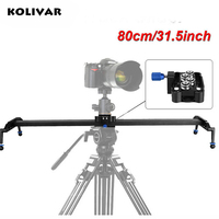 80cm 31 DSLR Camera Track Dolly Slider Video Rail System Photograph Movie Film Making For Nikon