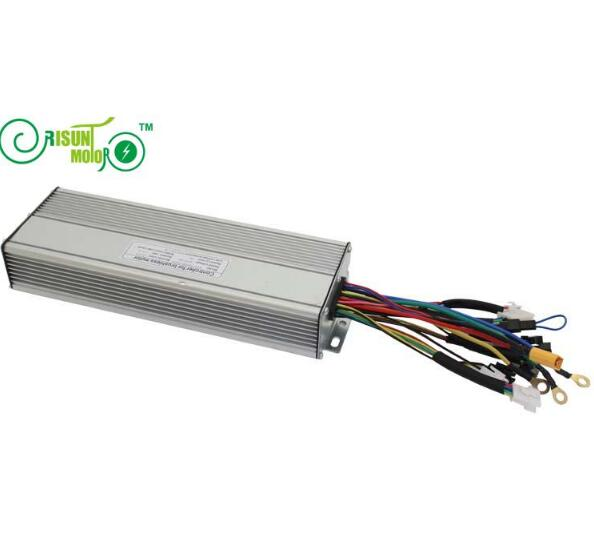 ФОТО Ebike 72V Brushless Controller 45A 18MOSFET With Regenerative Function For Electric Bicycle Bike