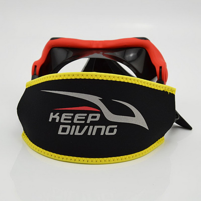 Greater Comfort Diving Scuba Mask Head Strap Cover Protective Mask Padded Long Hair Band Strap-Wrapper Equipment P15