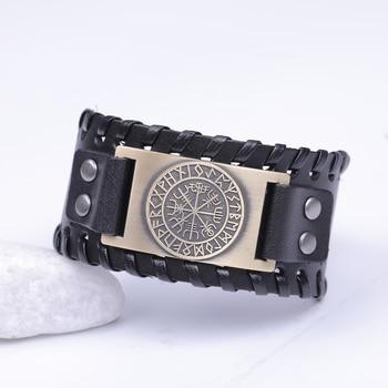Genuine Leather Viking Bracelet 2