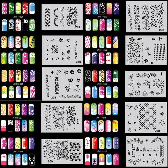 Трафареты для аэрографии на ногтях купить