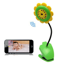 Sunflower Wireless Baby Monitor Night Vision Remote View Security Wifi IP Camera
