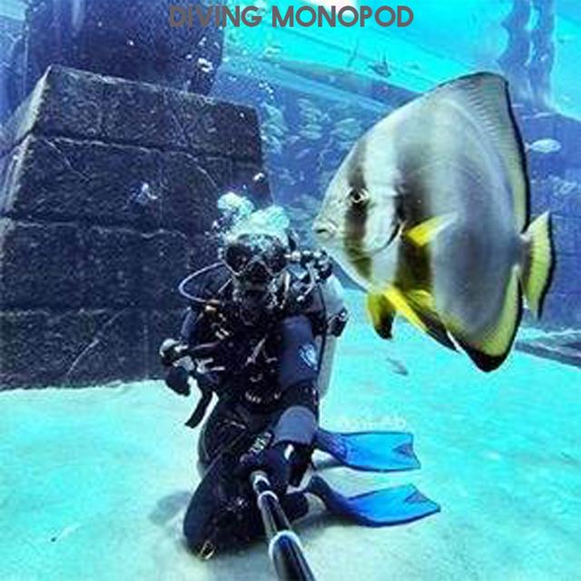 Go pro Handheld Selfie Sticks Monopod for GoPro HERO 5 4 3 session sjcam sj4000 sj5000x sj9000 xiaomi yi 4k camera accessories