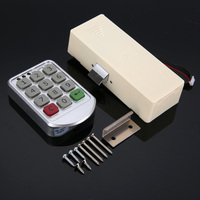 Electronic Digital Password Lock Digital Key Pad Numbers Door Lock Combination Lock For Cabinet Code Password