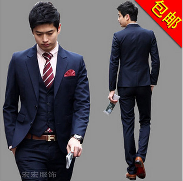 05c0afc377 Wholesale Excellent Quality and Reasonable Price 2016 New Coming Classical  Simple Style Men Suits(Jacket + pants +vest+Tie)