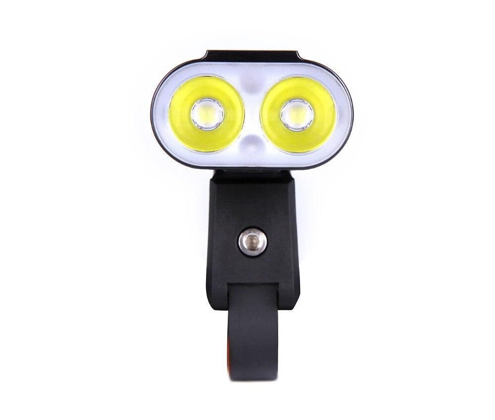 Mago americano Monteer 1400 Luz de bicicleta USB carga compatible MTB bicicleta de carretera linterna ciclismo impermeable Faro de bicicleta - 5