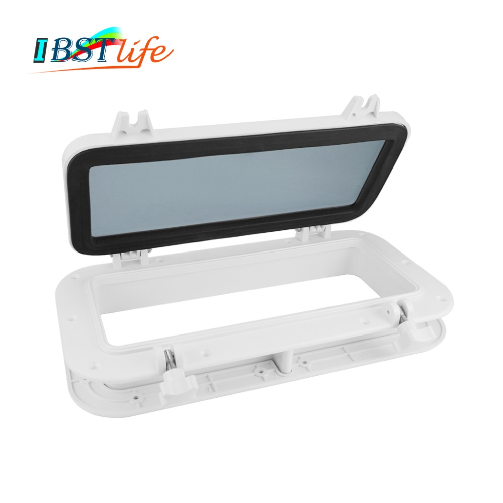 Marine Boat Yacht RV Porthole ABS Plastic Rectangular Hatches Port Lights Replacement Waterproof Windows Port Hole PortligtMarine Boat Yacht RV Porthole ABS Plastic Rectangular Hatches Port Lights Replacement Waterproof Windows Port Hole Portligt