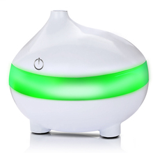 300ml USB Aroma Essential Oil Diffuser Ultrasonic Cool Mist Humidifier Air Purifier 7 Color Change LED Night light Office home 300ml air humidifier ultrasonic usb aroma essential oil diffuser built in aroma tablets for car office home air purifier
