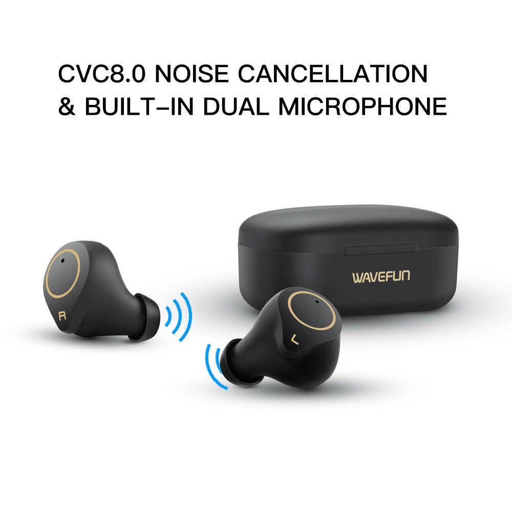 Wavefun XPods 3 Bluetooth наушники HIFI aptX наушники IPX7 Беспроводные наушники с сенсорным управлением беспроводные наушники Bluetooth 5,0