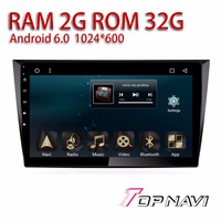Automotive Multimedia For VW Golf 2009 2103 10 1 Android 6 0 Topnavi Car Amplifier Capacitive