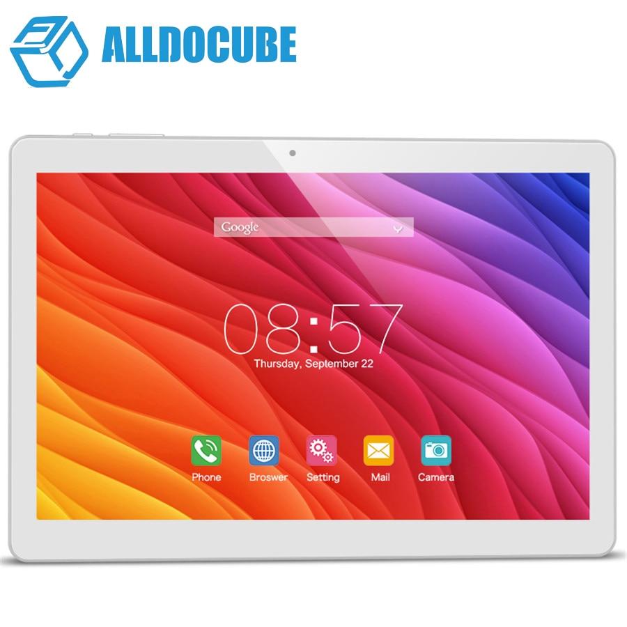 Original Cube T12 3G Phone Call Tablet PC 10.1'' IPS 1280x800 Android 6.0 MT8321 Quad Core WCDMA Bluetooth Dual Camera 1GB/16GB
