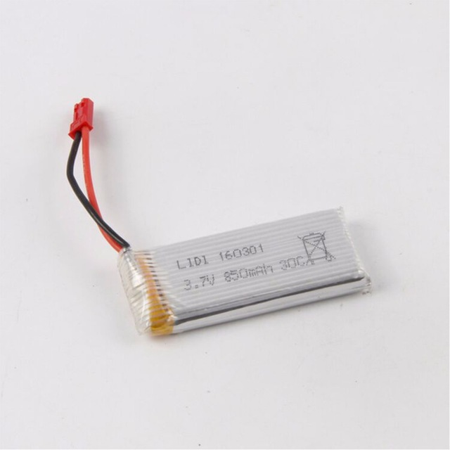 GTFDR <font><b>3.7V</b></font> <font><b>850Mah</b></font> 30C <font><b>lipo</b></font> <font><b>battery</b></font> for HM1315S Quadcopter Spare Part image