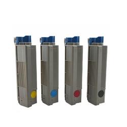 Tonery dla OKI C610 kolorowa drukarka laserowa  skorzystaj z dla Okidata 44315304/03/02/01 do OKI z tonerem C610dn drukarki  do Oki C 610 Toner w Kasety z tonerem od Komputer i biuro na