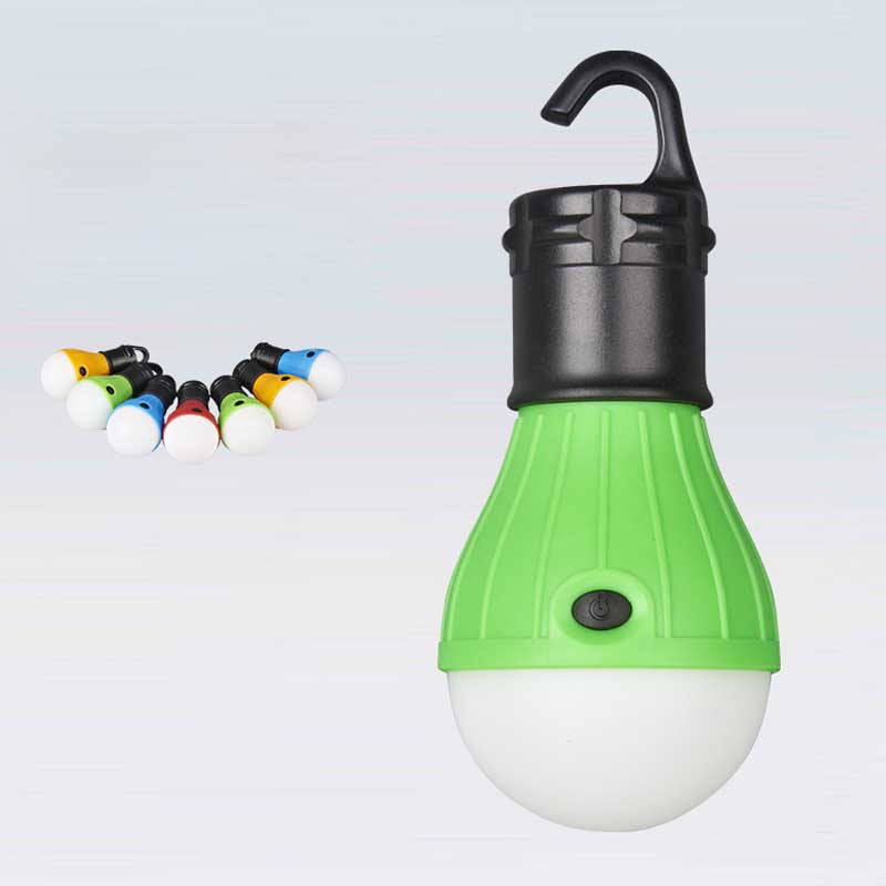 Emergency Portable Camping Hand Hold Soft White Light LED Bulb Lamp Portable Energy Saving Lamp Outdoor Hiking Camping Lantern H