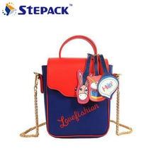 New Arrival Hit Color Donkey Design With List 2Colors Kawaii Shoulder Bag Crossbody Bag Lovely Handbag Bag Women Messenger Bag