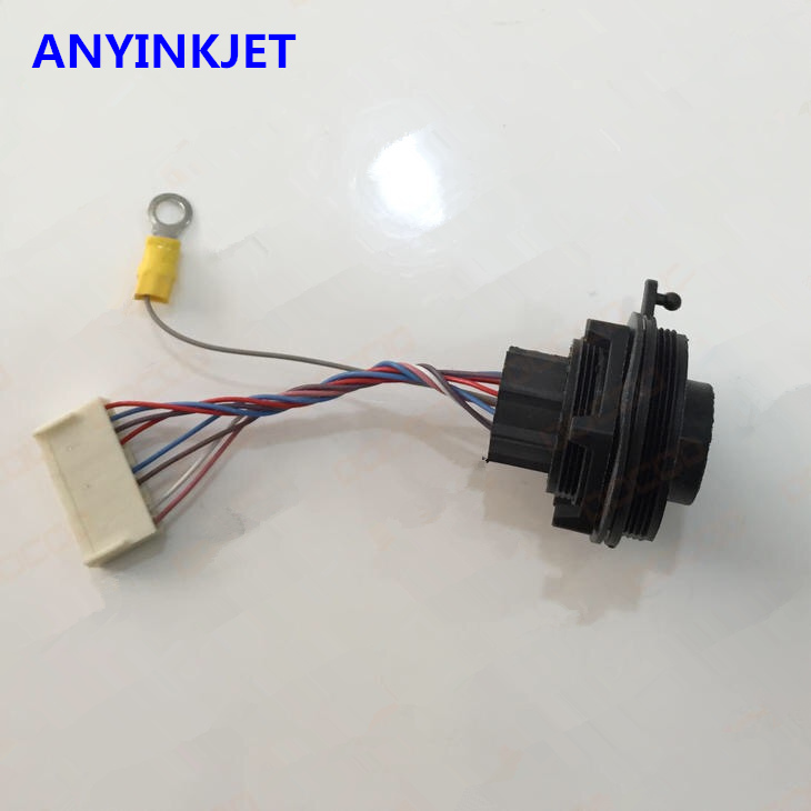 for Domino alarm lamp port cable assembly DB37738 for Domino A100 A200 A300 A series printer цена