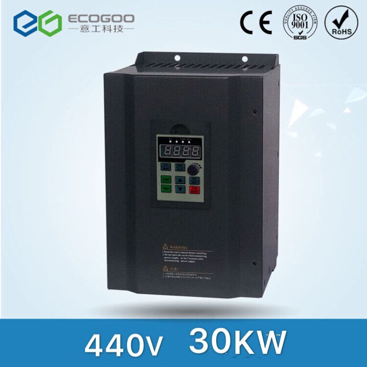 NEW 30KW 40HP 440V 400Hz Variable Frequency Drive Inverter/VFD TECO CNC Driver CNC Spindle motor Speed control new vfd variable frequency drive inverter 0 75kw 1hp 380v 400hz teco 7200ma vfd cnc spindle motor speed control 1year warranty