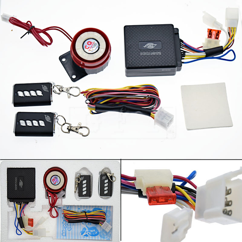 12v Motorcycle Bike Anti Theft Security Alarm System