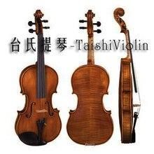 Горячая Распродажа 4/4 скрипка китайская брендовая классическая профессиональная скрипка с футляром для скрипки и бантиком компактная структура отличный тон