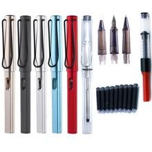 Wielofunkcyjny przenośny pióro hak linia cienki pędzelek trzy długopisy głowy może dodać atramentu żel pióro do szkoły studentów