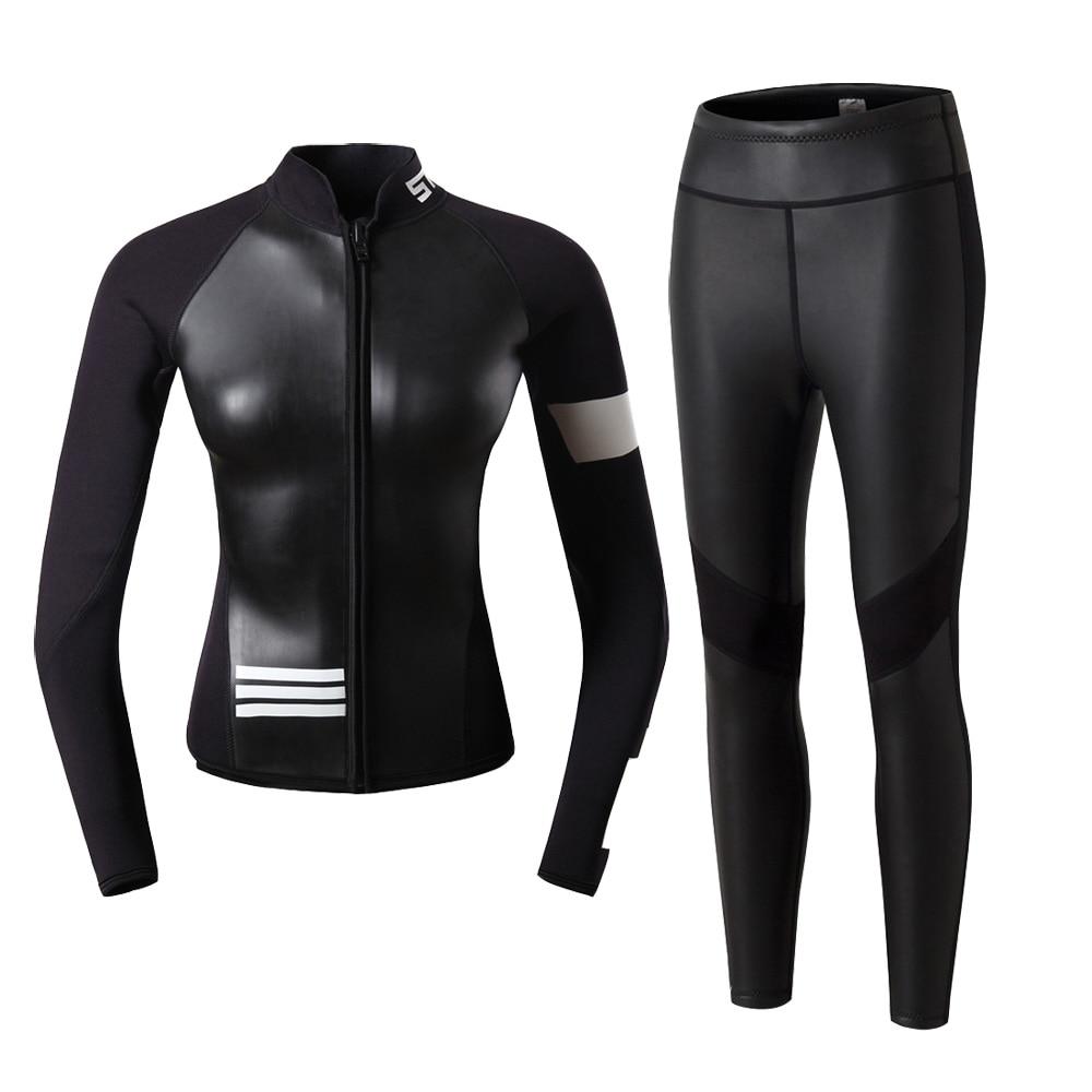 Wetsuit para Mulheres Slinx 5mm Neoprene Quentes Homens