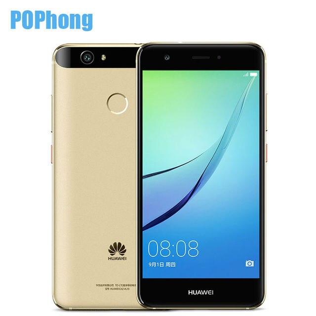 Original Huawei Nova 3GB RAM 32GB ROM 5.0 inch Dual SIM Mobile Phone Snapdragon 625 Octa Core ROM Android 8.0MP+12.0MP