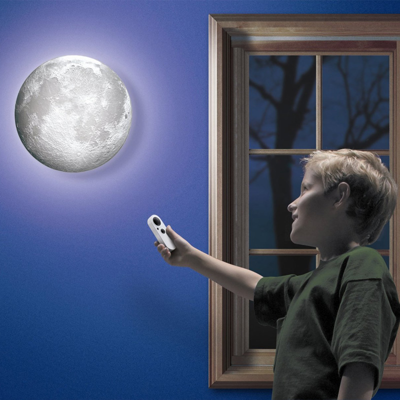 Novelty Cosmos Projection Lamp Moon In My Room Decor Lunar Projection Night Light with Remote Control Astronomer Night Lights