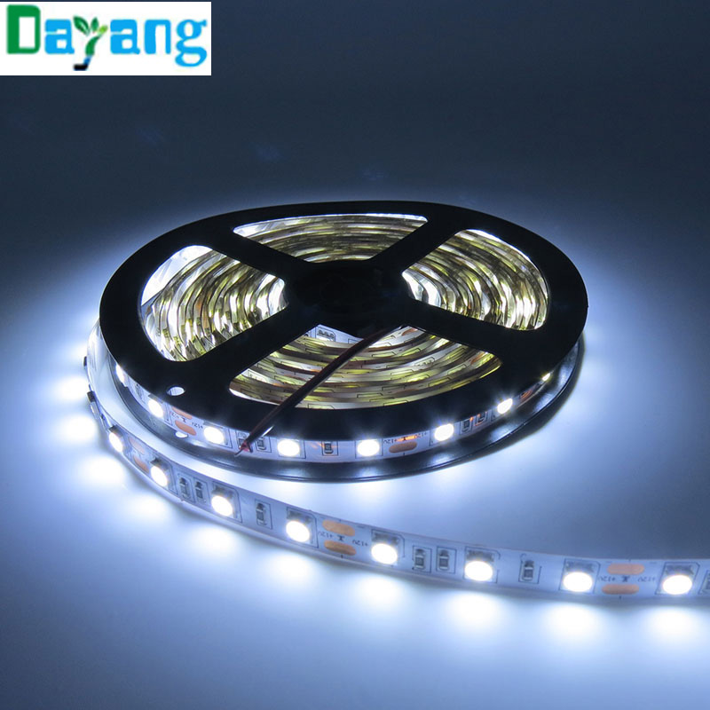 Non waterproof 5050 LED strip light ribbon 5 meters 300 ...