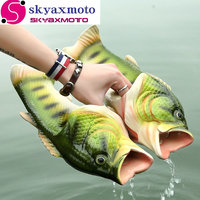 2017 New Fashion Summer Shoes Women Sandals Slippers Sandals Rubber Beach Breathable Personality Strange Fish Type