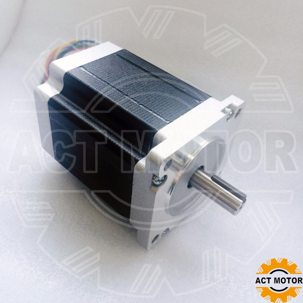 ACT Motor Engraving machine 450B 34HS1450D12.7L34J5-5 Schrittmotor 5A 114mm 8Nm ACT Motor Engraving machine 450B 34HS1450D12.7L34J5-5 Schrittmotor 5A 114mm 8Nm