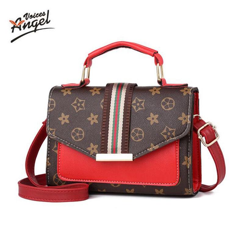 Crossbody-Bags Square Bag Sac Printing Small Femme Summer Women for Carteras Mujer De