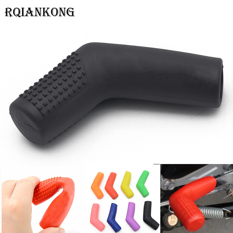 For <font><b>BMW</b></font> R1200R <font><b>R1200RT</b></font> R1200S R1200ST S1000R S1000RR Motorcycle Shift Lever Rubber Sock Boot Shoe Shift Case Protectors Covers image