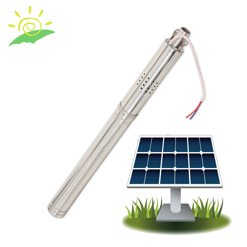 2 Inch Solar Pond Pump Kit Solar Water Pump Brushless High Temperature Small Water Pump Solar Submerse Solar Water Pump