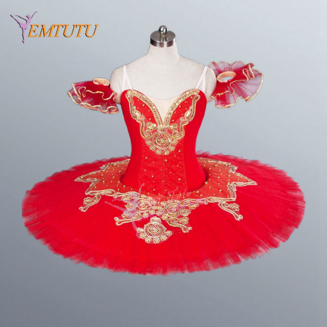 a4f187f682 adult child red professional tutu pancake platter stage ballet tutu skirt  classical ballet tutus ballerina dance costume Custom