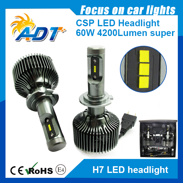 led headlight headlamp auto bulb PH-ILIPS 4200LM DC12-24V 6000K 60W H4/H13/9004/9007 HI LO car led headlight high power