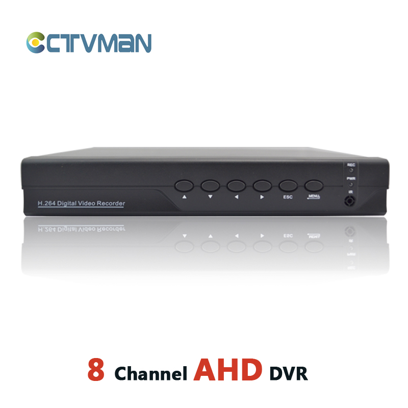 CCTV AHD DVR 8CH HD 720P FULL 960H Hybrid DVR NVR For Analog Network Security 8 Channel Recorder P2P ONVIF Mobile Surveillance 1080n 8ch ahd dvr nvr network cctv
