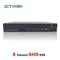 CCTV AHD DVR 8CH HD 720P FULL 960H Hybrid DVR NVR For Analog Network Security 8