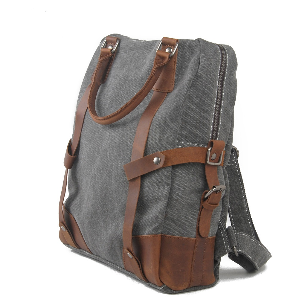 ФОТО Fashion bags casual shoulder bag computer backpack Men and Women Canvas Travel backpack 1025