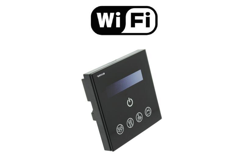 Livraison gratuite nouveauté haute qualité WiFi 0-10 V tactile panneau gradateur adapté pour le contrôle du téléphone intelligent pour l'utilisation du panneau de LED