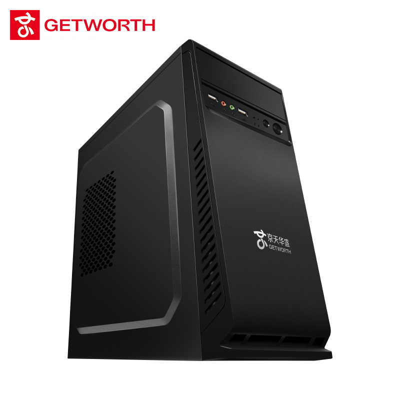 GETWORTH G12 Gaming Computer <font><b>I7</b></font> <font><b>7700</b></font> 1060 6G 8G Ram 240G SSD COLORFUL Video Card Asus Motherboard Desktop Gaming PC 400W image