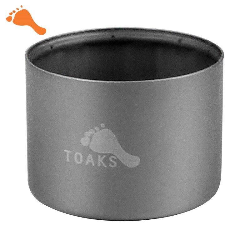 TOAKS Titanium sifón estufa de Alcohol al aire libre ligero estufa de Camping