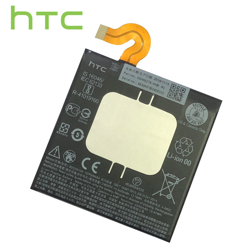 HTC Original Battery Li-Polymer Battery B2Q55100 For HTC U12+ U12 Plus Replacement Batteries