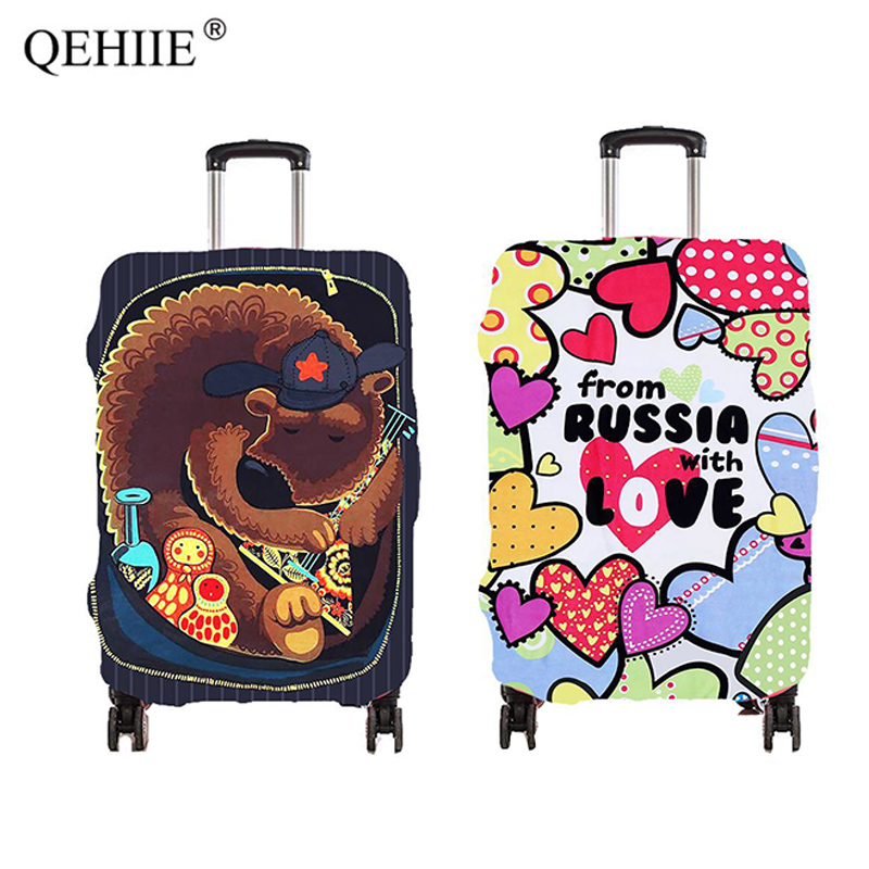 Hot Travel Luggage Cover Fashion Trolley Dust Cover for 18-28 Inch Suitcase Trolley Luggage Case Cover Cute Travel Accessories