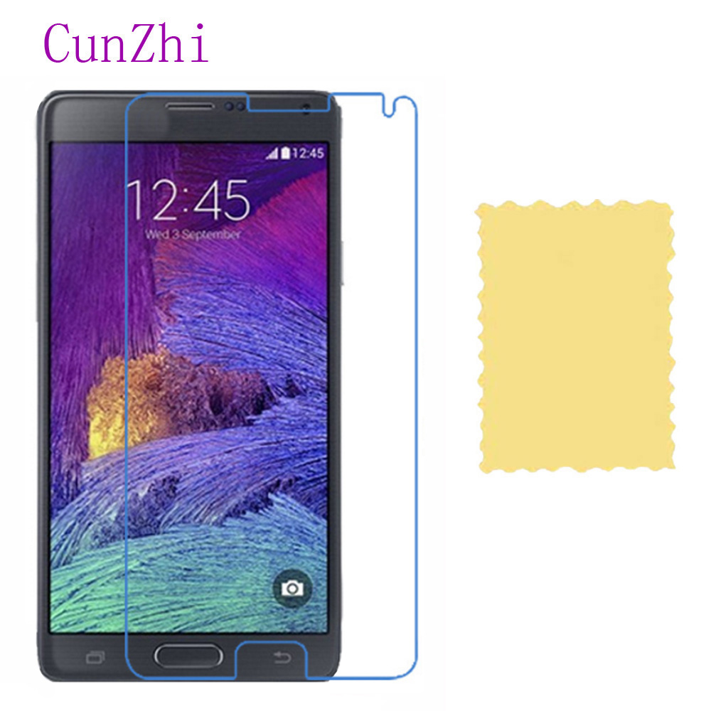 3 stücke High Definition Schutz Film Für Samsung <font><b>Galaxy</b></font> <font><b>Note4</b></font> N9100 N910X N910F Handy <font><b>LCD</b></font> <font><b>Screen</b></font> Protector image